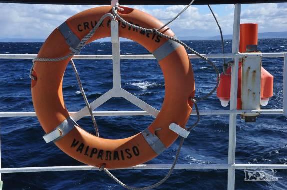 Atravessando o Estreito de Magalhães, de Punta Arenas à terra do Fogo, no sul do Chile