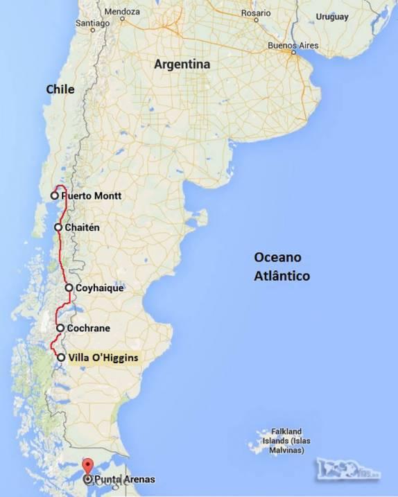 O sul do chile e a carretera austral blog do rodrigo for Jardin villa austral punta arenas