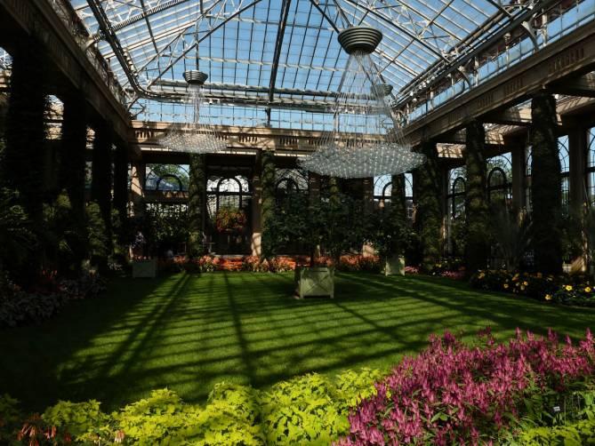 A magnífica estufa do Longwood Gardens, na Pennsylvania - Estados Unidos